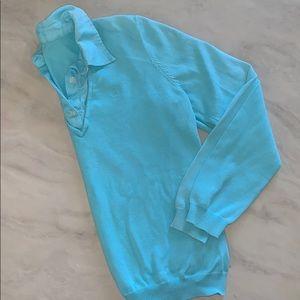 *Ralph Lauren* Vintage Tiffany Blue Prep Polo!